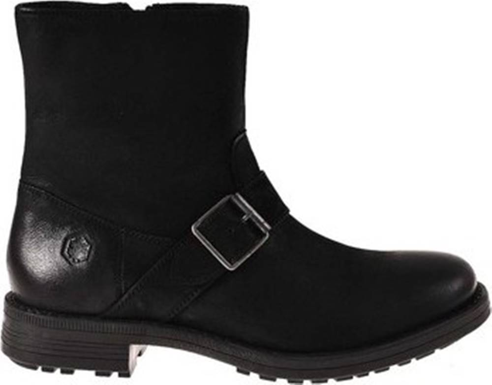 LUMBERJACK Lumberjack Kotníkové boty SM33601 006 B47 Černá
