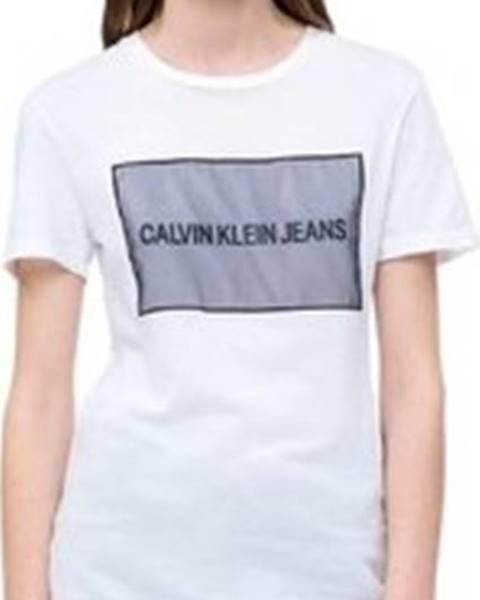 Bílý top calvin klein jeans