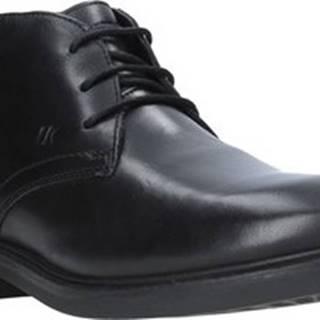 Lumberjack Kotníkové boty SM33803 003 B63 Černá