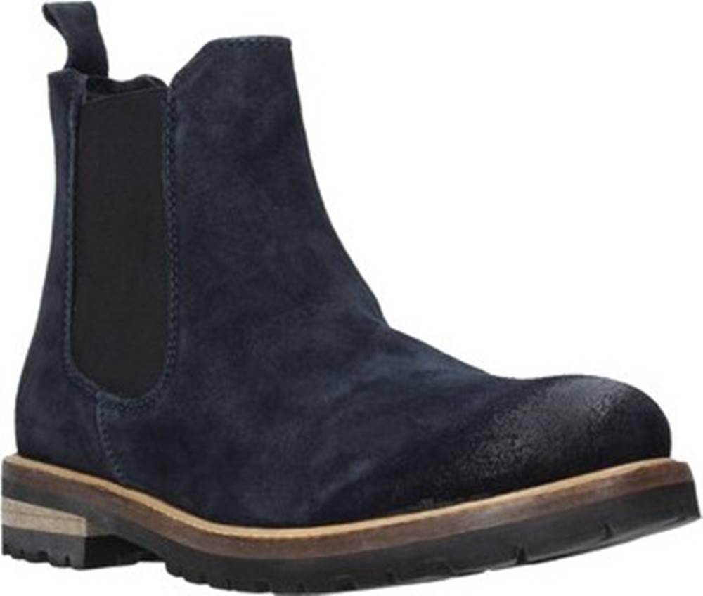 LUMBERJACK Lumberjack Kotníkové boty SM67813 001 A04 Modrá