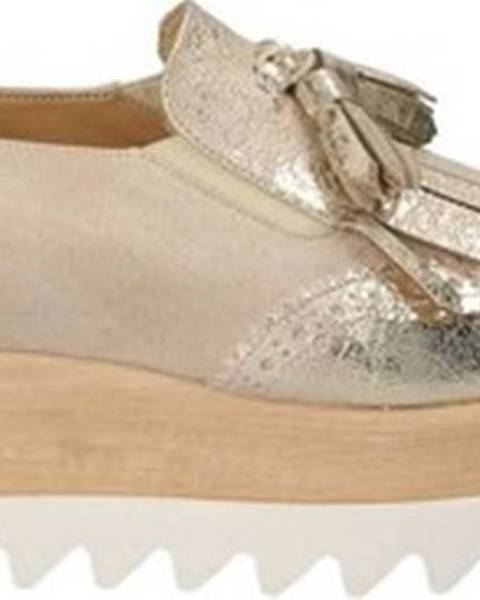 Žluté mokasíny Grace Shoes