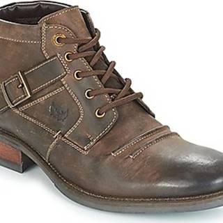 Kotníkové boty GRAND Hnědá