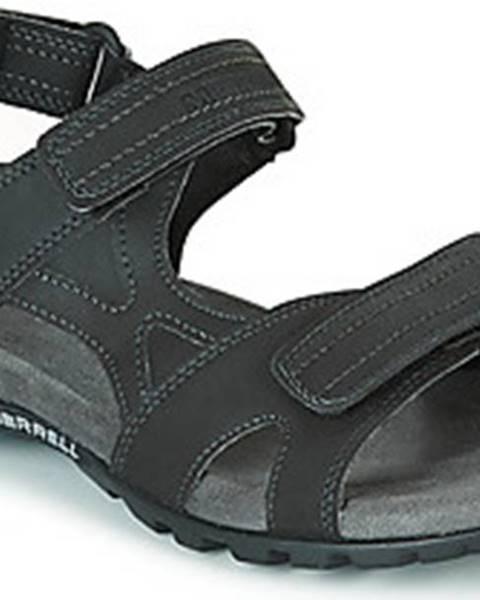 Černé sandály Merrell