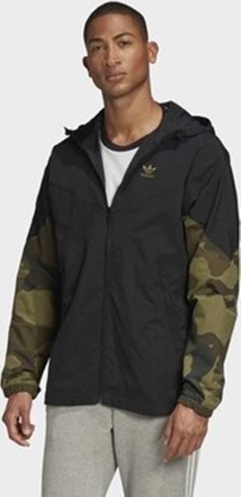 adidas adidas Teplákové bundy Bunda Camouflage Černá
