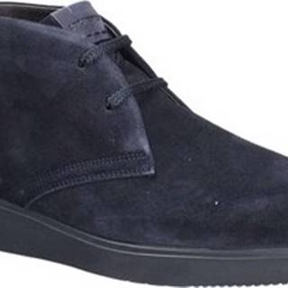 Kotníkové boty 210018 Modrá