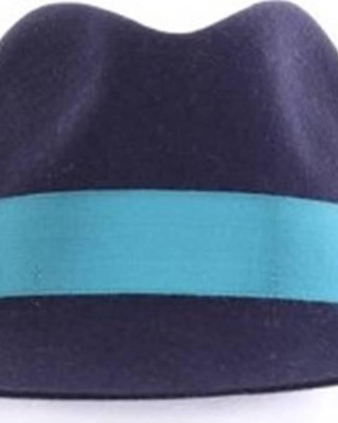 Modrá čepice Borsalino