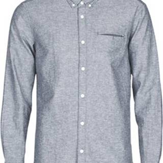 Košile s dlouhymi rukáv N OCS COLI C LS Modrá