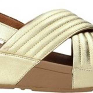Sandály T99-667 Zlatá