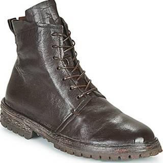 Kotníkové boty COMBAT Hnědá