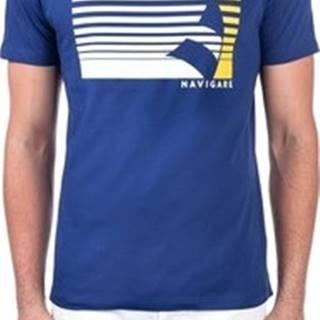 Trička s krátkým rukávem NV31114 Modrá