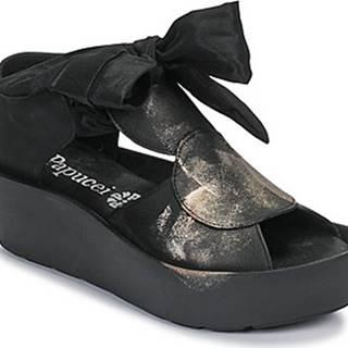 Sandály GENEVA Černá