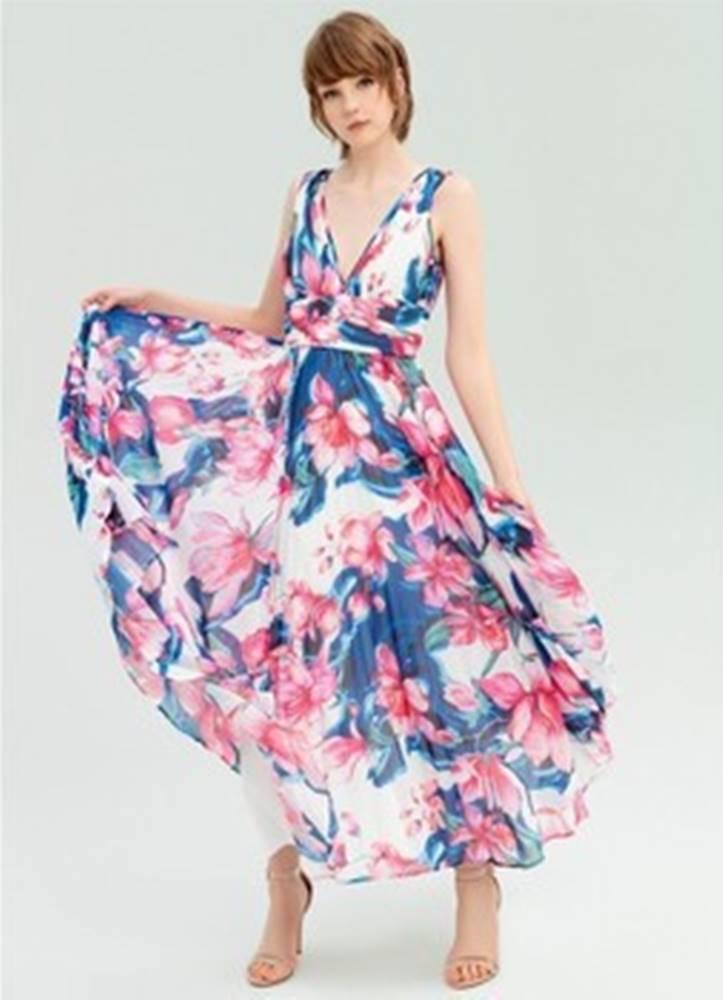 Fracomina Společenské šaty FR20SP640 ruznobarevne