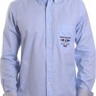 Košile s dlouhymi rukáv NV91061 BD Modrá