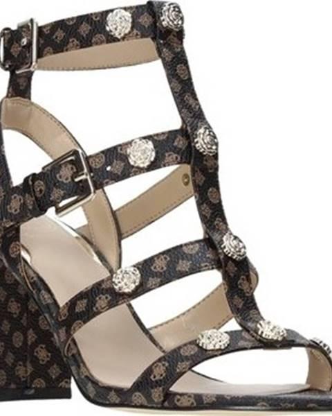 Hnědé sandály Guess