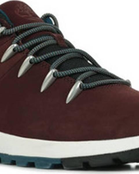 Červené boty Timberland