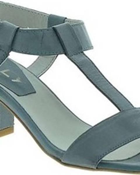 Modré sandály Mally