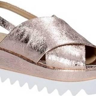 Sandály 1630 Růžová