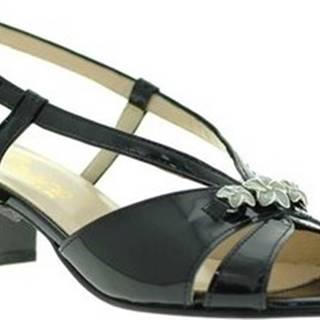 Sandály E8122 Černá
