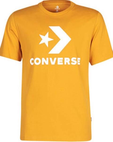 Žluté tričko converse