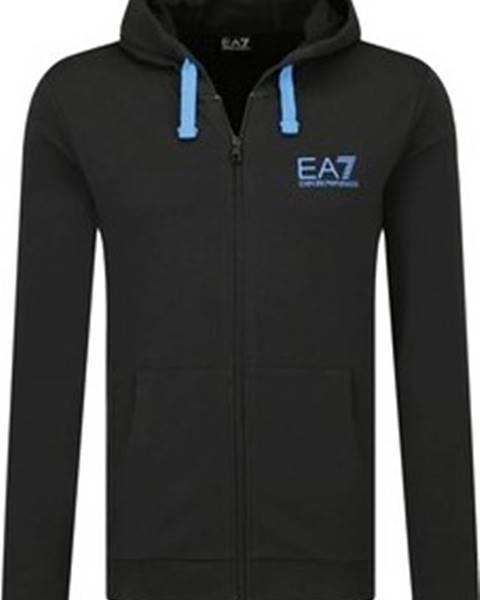 Černá mikina Emporio Armani EA7