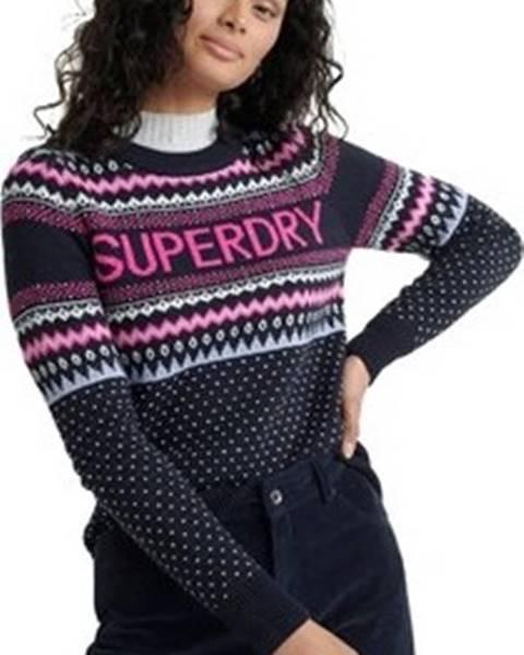 Modrý svetr superdry