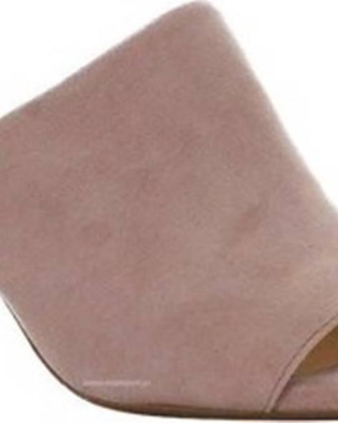 Béžové pantofle Clarks