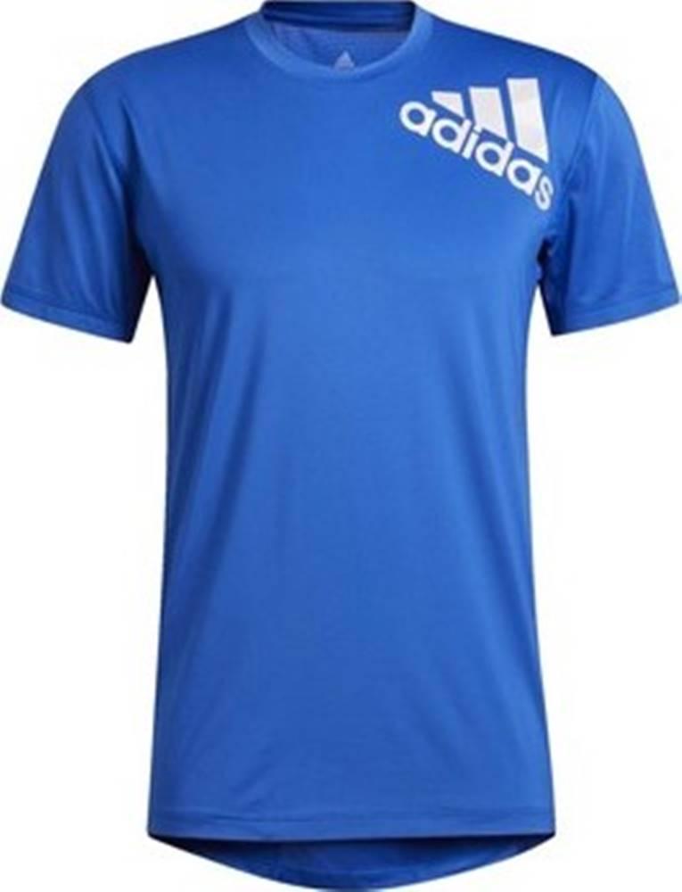 adidas adidas Trička s krátkým rukávem Tričko Alphaskin 2.0 Sport Fitted Short Sleeve Modrá