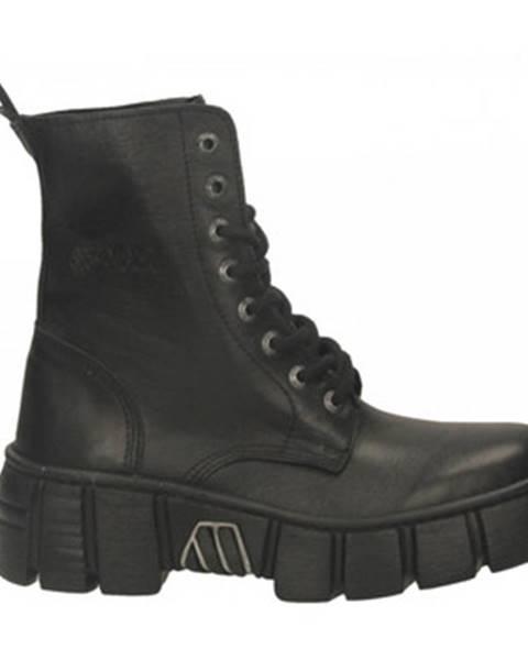 Černé boty New Rock