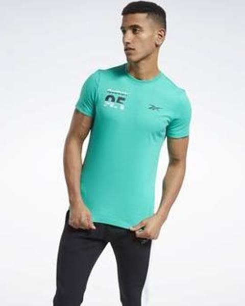 Zelené tričko Reebok Sport