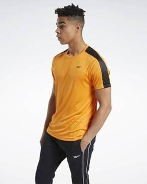 Oranžové tričko Reebok Sport