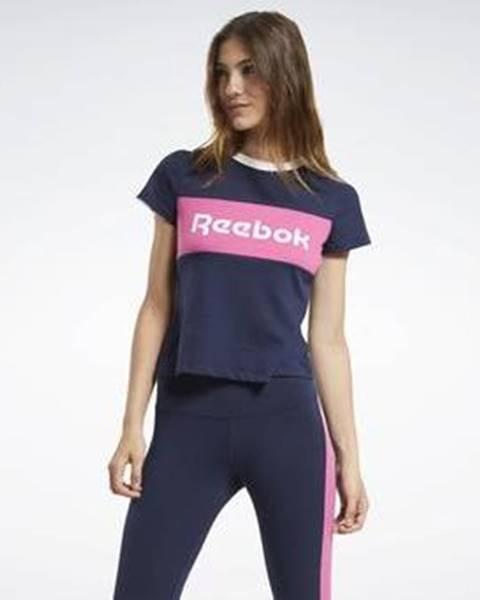 Modrý top Reebok Sport
