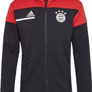 adidas Mikiny Bunda FC Bayern Anthem Černá