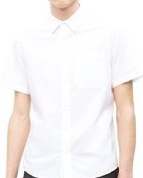 Bílá košile calvin klein jeans