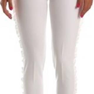 Ležérní kalhoty FR19SP666 Bílá