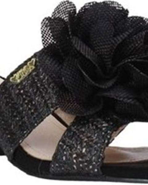 Černé pantofle Love To Love