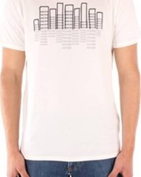 Bílé tričko Penn Rich Woolrich