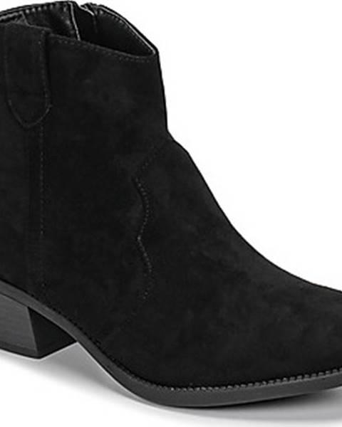 Černé boty Moony Mood