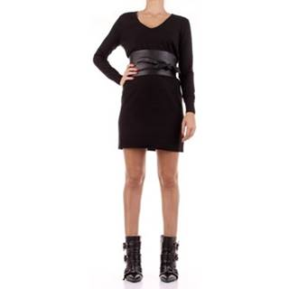 Krátké šaty LESA Černá