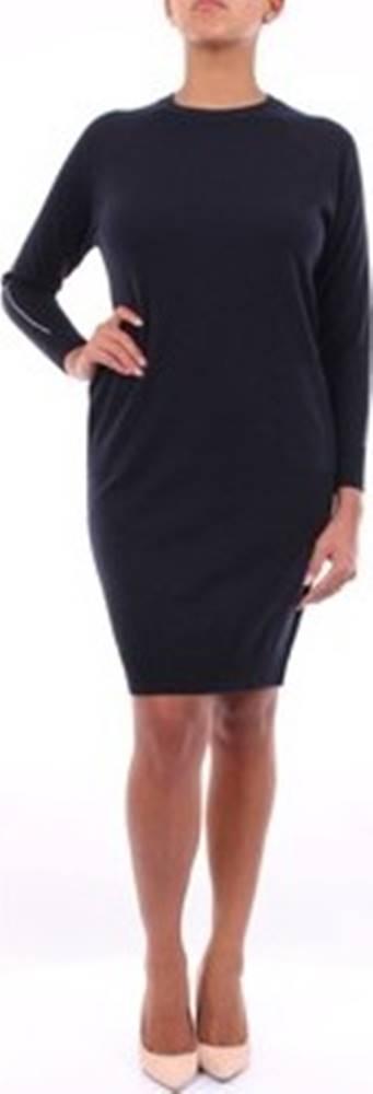 Peserico Krátké šaty S92159F1209018 Modrá