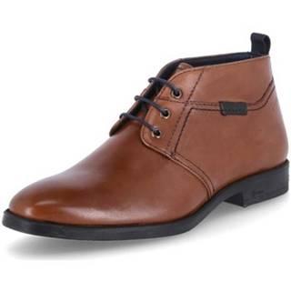 Kotníkové boty Foriolo 705 Hnědá