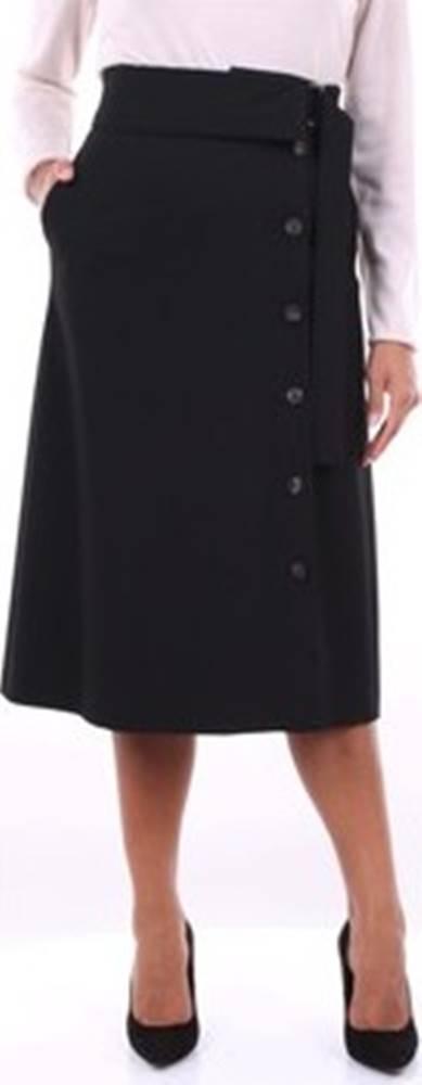 Peserico Krátké sukně P0579901904 Černá