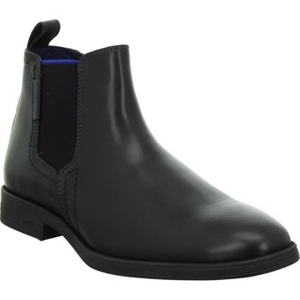 Sioux Kotníkové boty Foriolo Černá