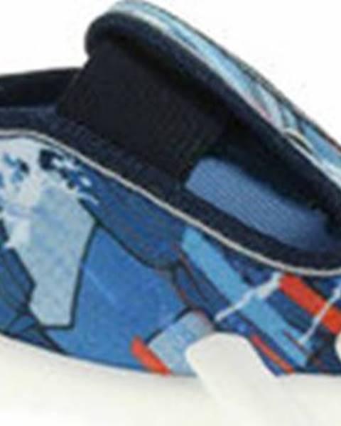 Modré pantofle Befado