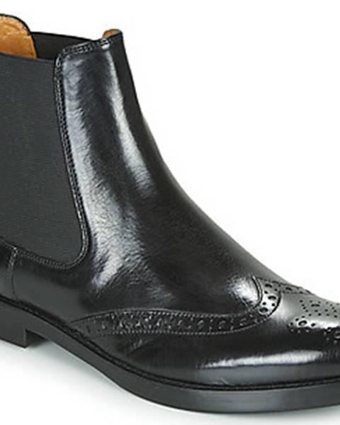 Černé boty Melvin & hamilton