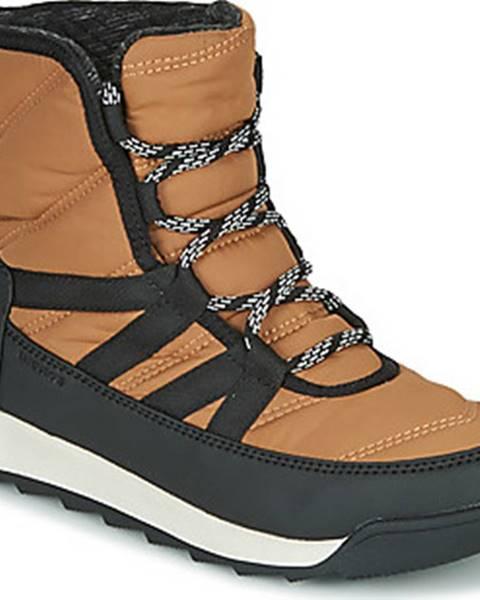 Hnědé boty sorel