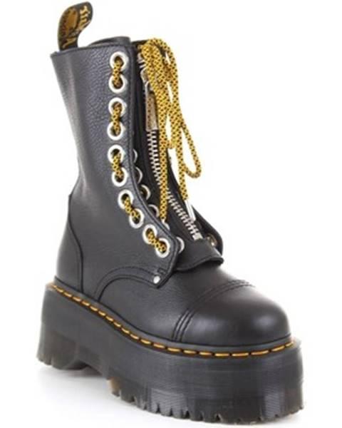 Černé boty Dr Martens