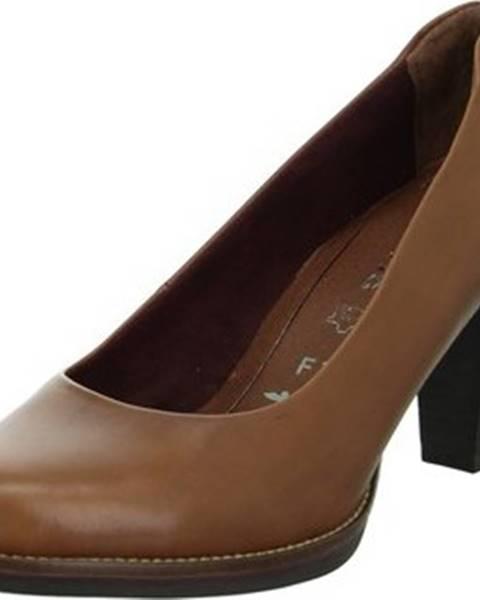 Hnědé boty tamaris