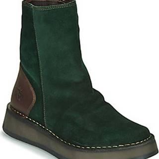 Kotníkové boty RENO Zelená