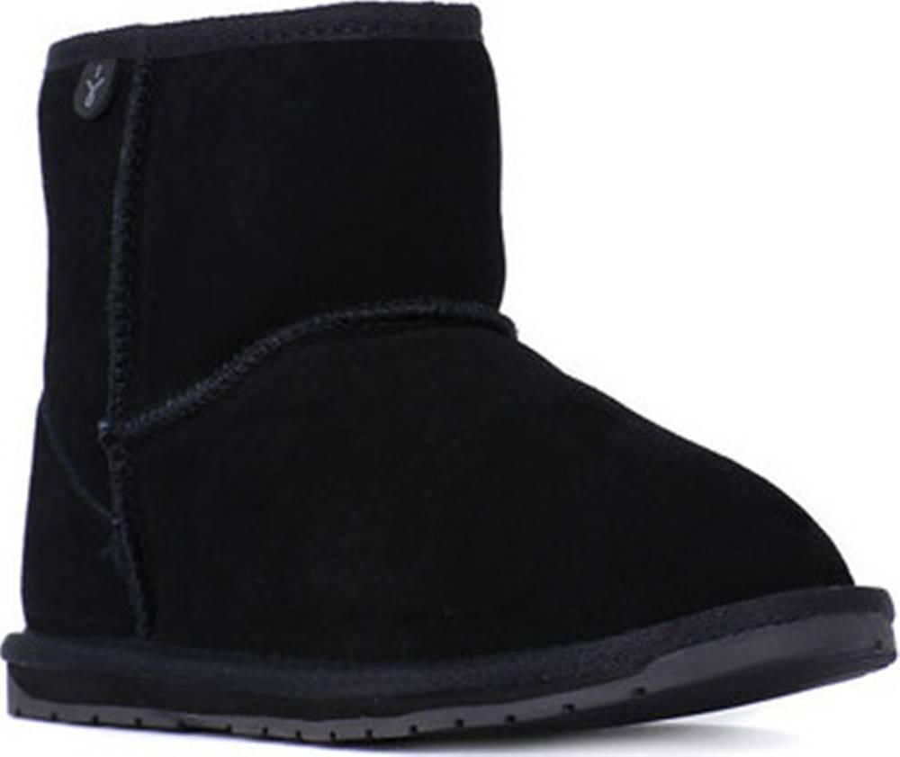 Emu EMU Zimní boty WALLABY MINI BLACK Černá