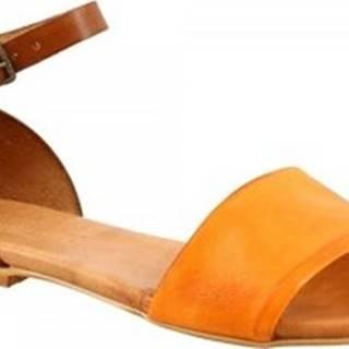 Sandály PC129L CAPRA ARANCIO Oranžová